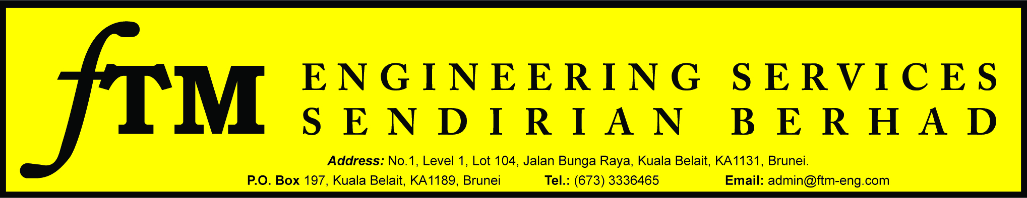 FTM ENGINEERING SERVICES SDN BHD